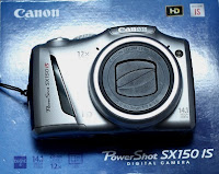 Canon Poweshot SX150IS Second