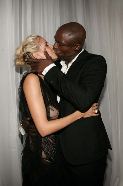 heidi klum seal wedding vows. Heidi Klum and Seal Wedding
