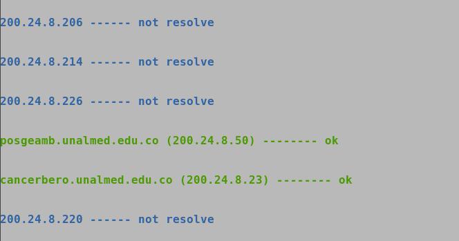 how to find website through ip address