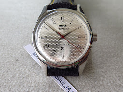 HMT JANATA MILITARY SILVER FLICKER TEXTURE DIAL - MANUAL WINDING