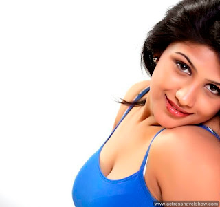 Supriya Spicy Blue Tank Top portfolio Pictureshoot