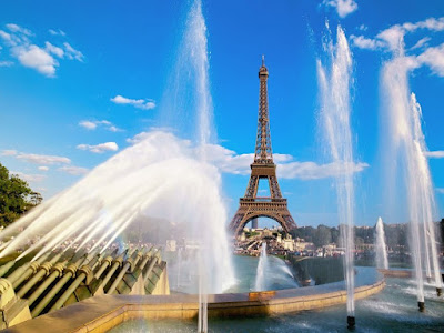 famous tourist attractions in paris, eiffel