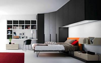 Decoraci n de interiores decora rec maras juveniles modernas for Decoracion de recamaras minimalistas pequenas
