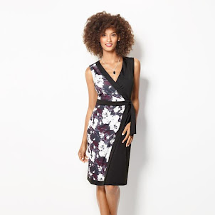 Pretty Florals Wrap Dress