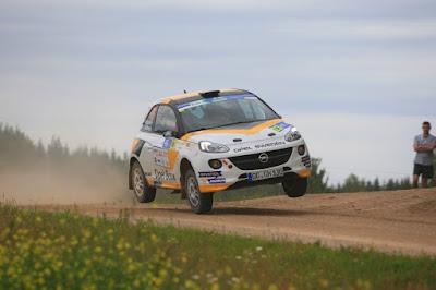 Η Opel κατακτά το Ευρωπαϊκό Πρωτάθλημα - Ο Emil Bergkvist νικητής στο FIA ERC Junior με ένα ADAM R2