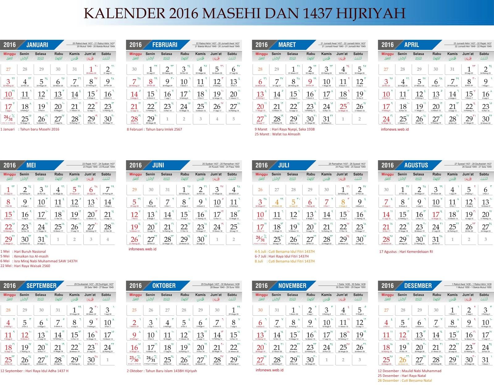 Forex calendar 2016 pdf