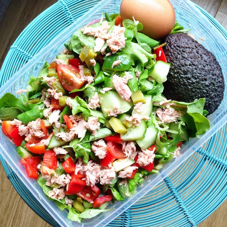 lunch salade recept
