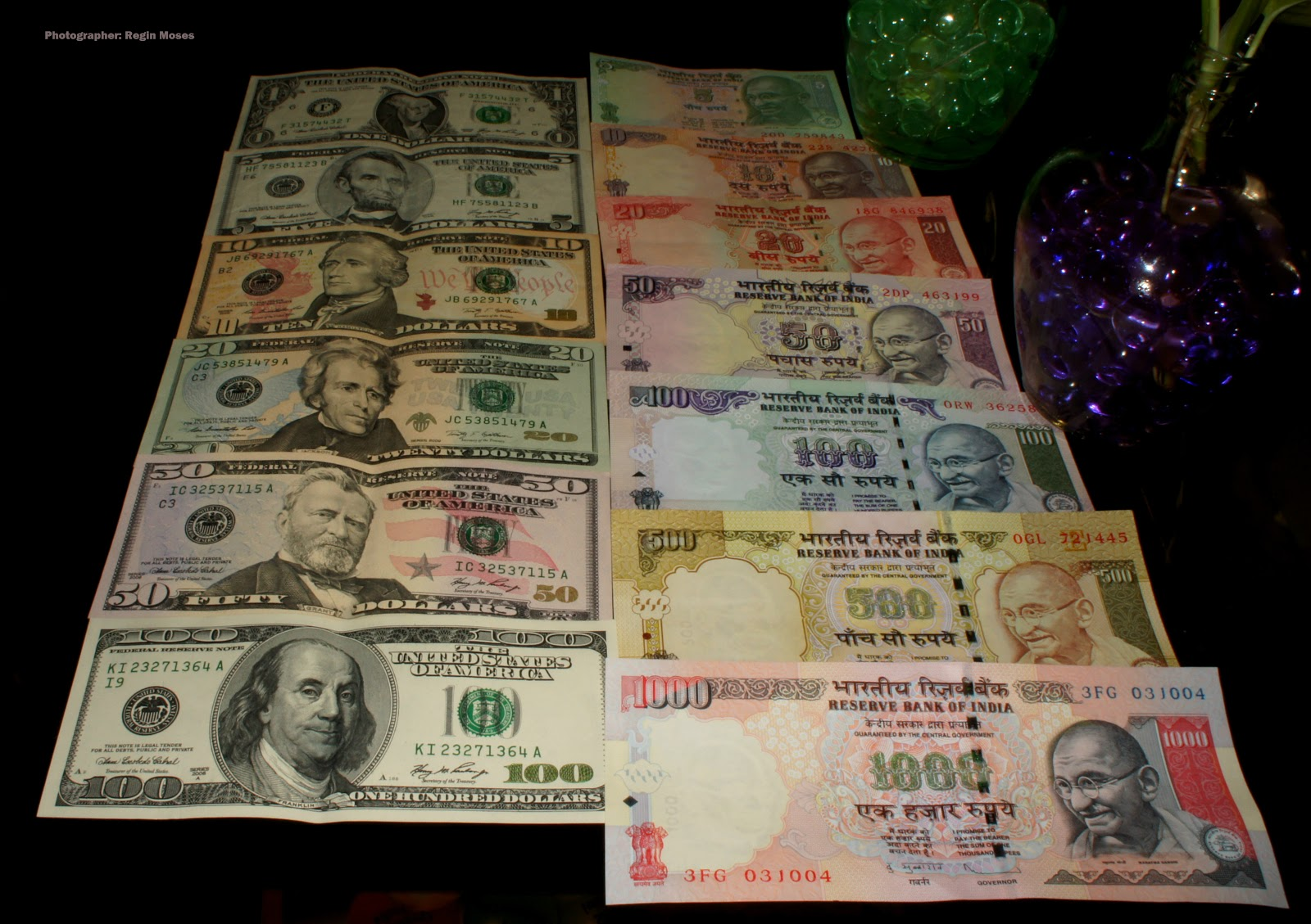 how to make duplicate indian currency