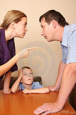 conflito de família separação divórcio
