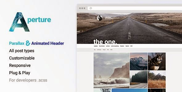 Best Creative Portfolio with Parallax Cover Tumblr Template