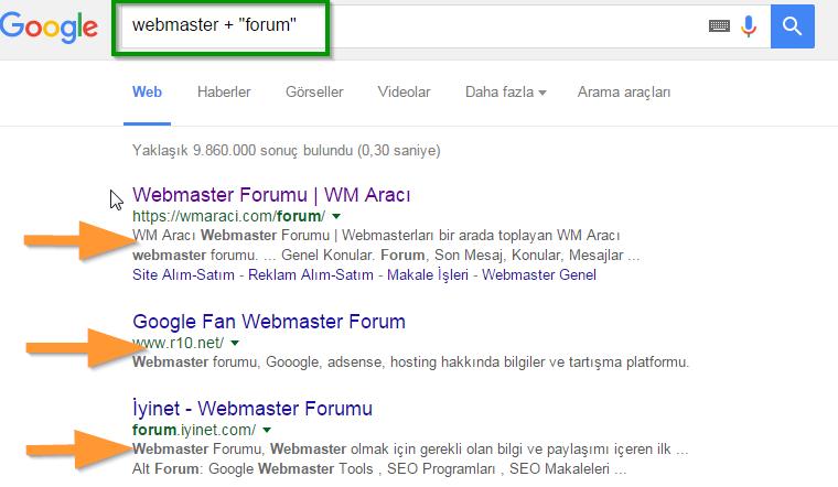 forum-sitesi-bulma