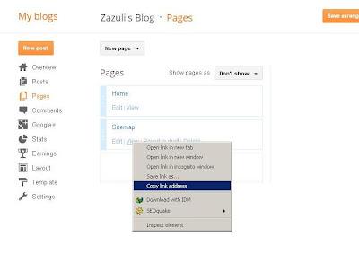 Cara Mudah Membuat Daftar isi Blog (Peta Situs)