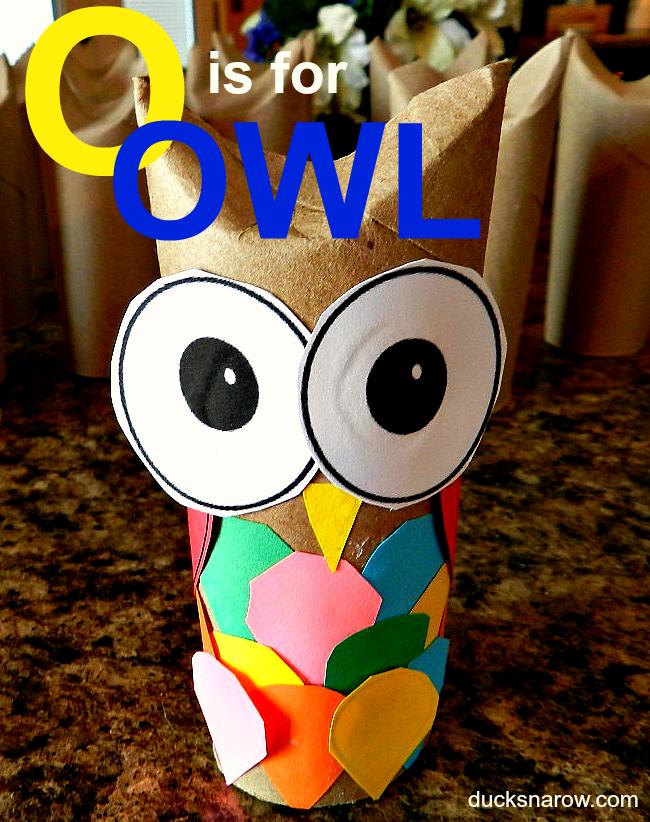 owl preschool craft o is for owl ducks n a row 429