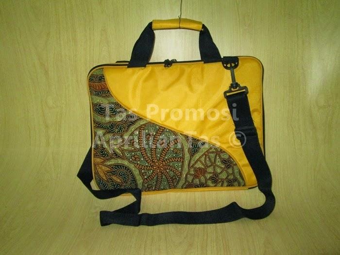 tas promosi laptop kuning