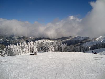 On the slopes of Ski Santa Fe