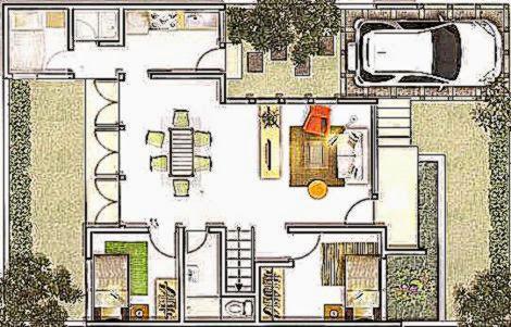 denah rumah minimalis terbaru design rumah minimalis
