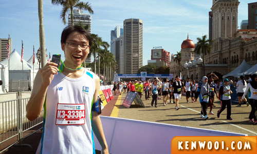 kl marathon 2013 finish line