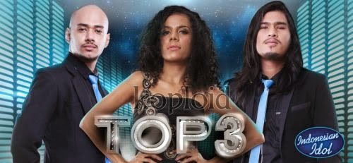 Download Full Lagu Indonesian Idol 2014 Spektakuler Show 12 Top 3 MP3