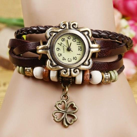 Reloj pulsera trebol