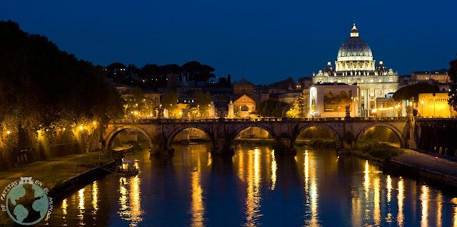 Puente de Sant'Angelo desde el puente Umberto I