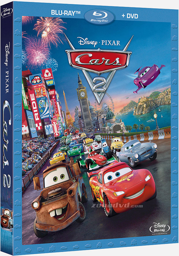 movies en blu ray cars 2 full blu ray 1080p audio latino. Black Bedroom Furniture Sets. Home Design Ideas