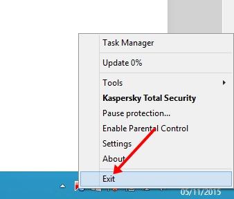 Cara menggunakan Kaspersky Trial Reset agar kaspersky full version