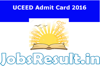 UCEED Admit Card 2016