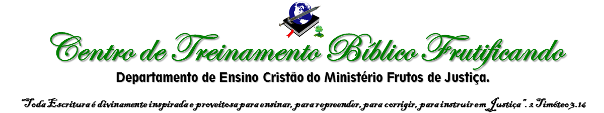 Centro de Treinamento Bíblico Frutificando