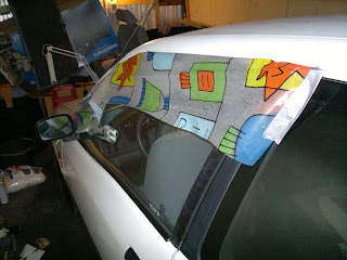 Rain protection for side windows