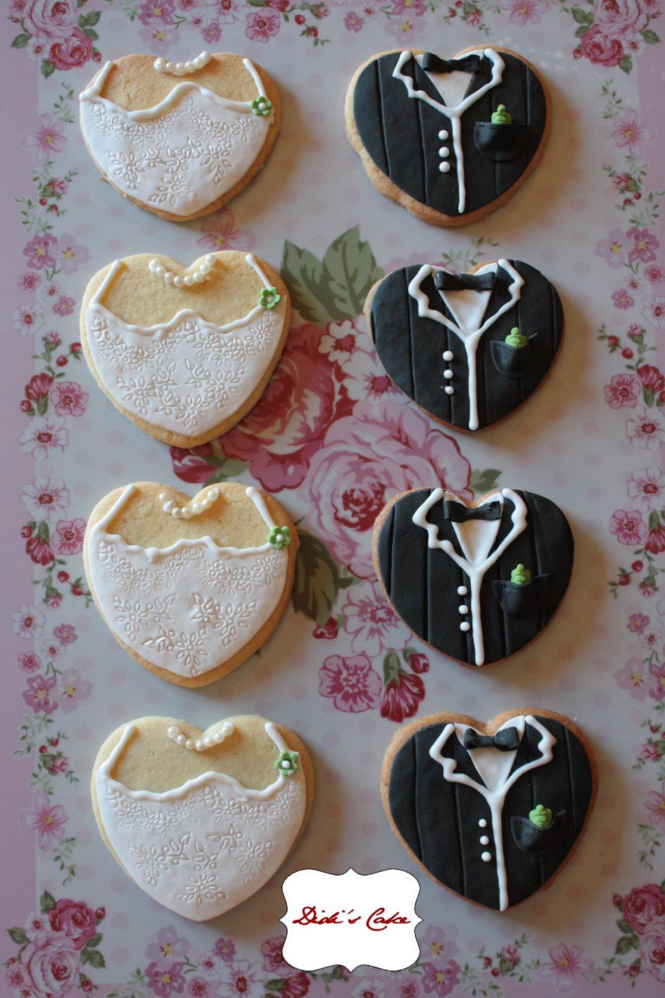 Amato Didi's Cake: Biscotti segnaposto per matrimonio ZL82
