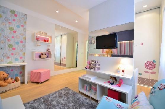 Dormitorio para nina quarto da menina casa cor rs 2012 Disenos de dormitorios para ninas