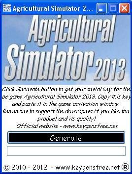 agricultural simulator 2013 product key the 2013 sequel to the