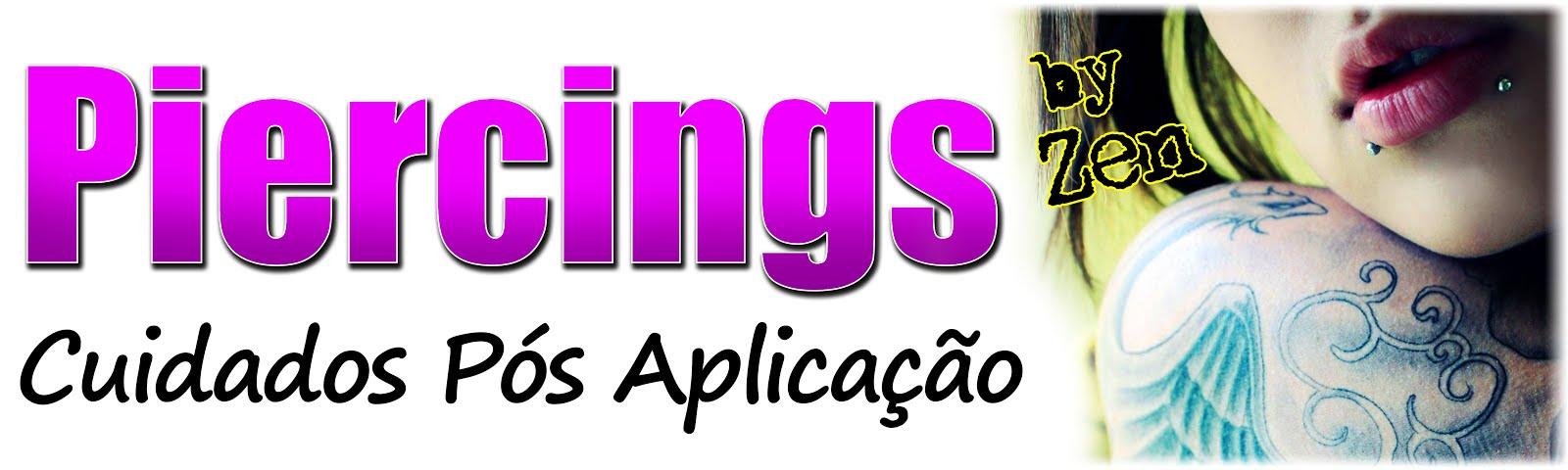 Piercings - Cuidados Pós Aplicação - Resumido