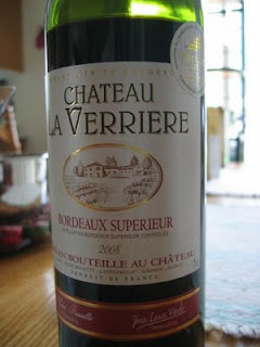 2008 Château la Verriere from Bordeaux, France