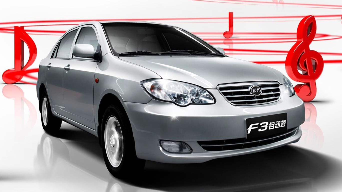 Byd F3 Model 2011 Technical Images And List Of Rivals