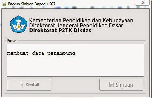 Larangan BSD Dapodikdas 207