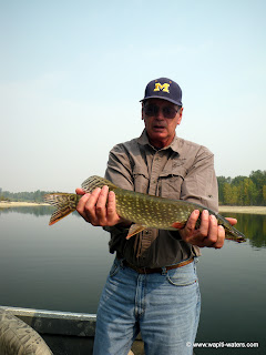Jerry on the Bitterroot in September catching pike and trout