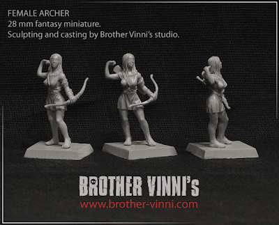 Brother Vinni's Female Archer