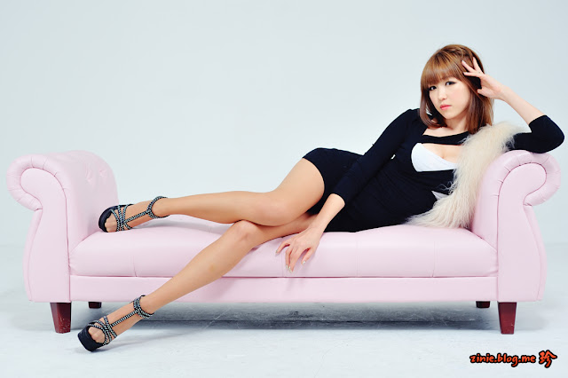 2 Lee Eun Hye in Mini Dress - Close-up-Very cute asian girl - girlcute4u.blogspot.com