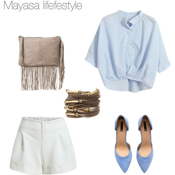 wishlist blue&white