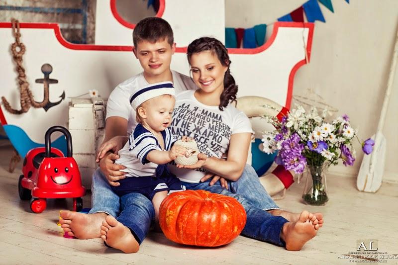 красивое семейное фото