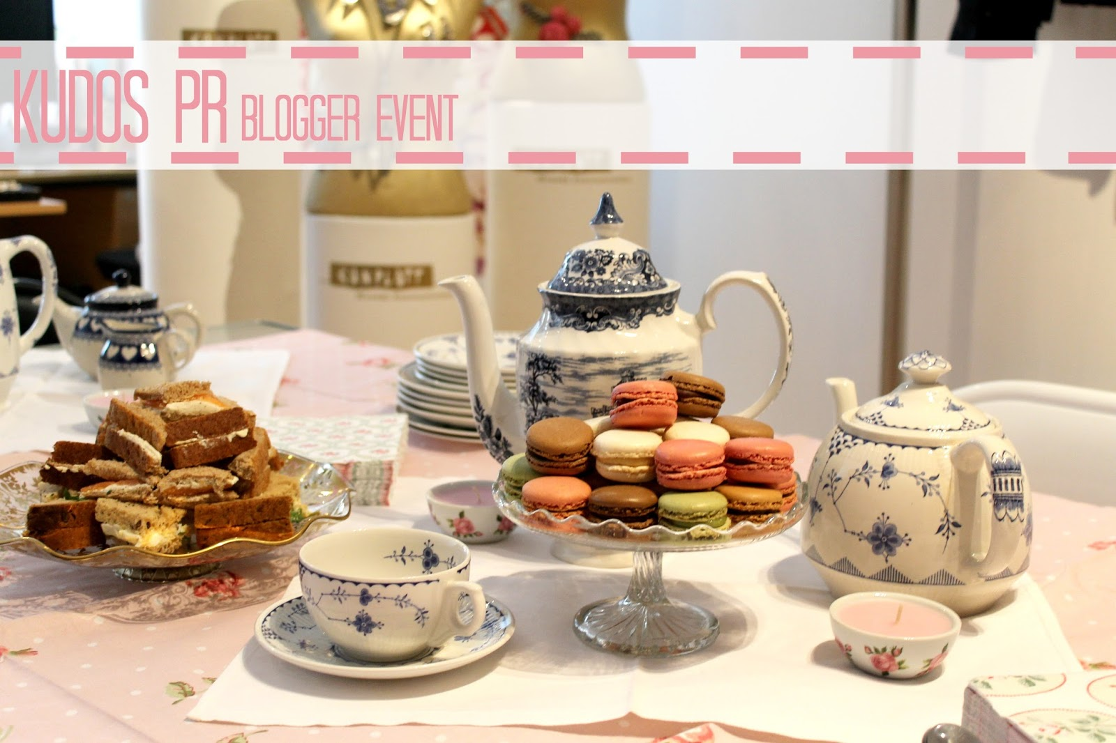 Tea Party for Bloggers at a press event in London
