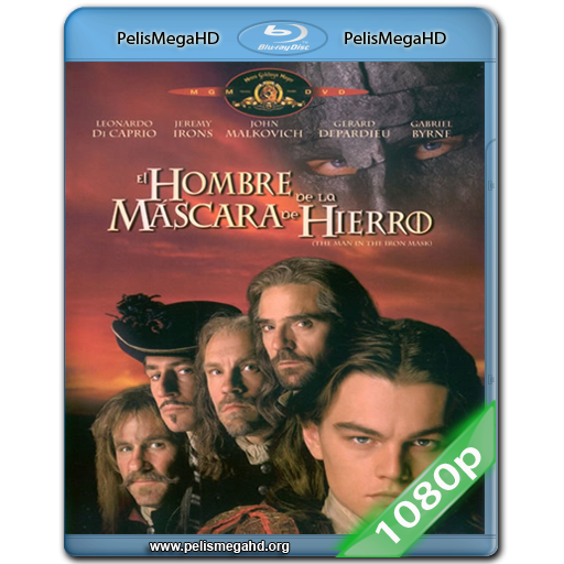 EL HOMBRE DE LA MASCARA DE HIERRO (1998) 1080P HD MKV ESPAÑOL LATINO