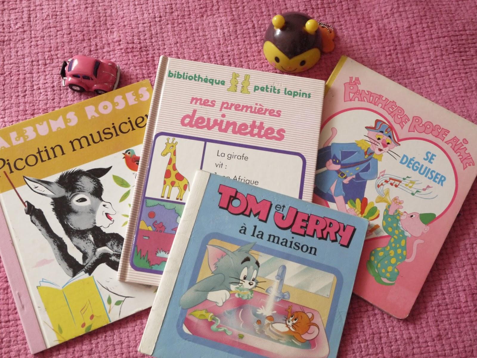 livres vintage tom et jerry