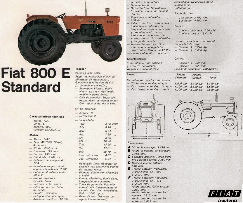 pesados argentinos fiat 800e 800a rh pesadosargentinos blogspot com Fiat Ventures Fiat Tractor Italy