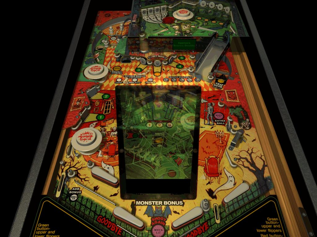 haunted house pinball download