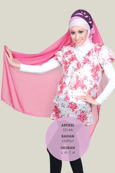 Model Baju chiffon Murah Terbaru 1014A