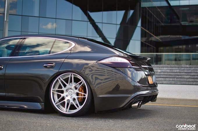 """Porsche Panamera Rebaixado rodas 22"""""""