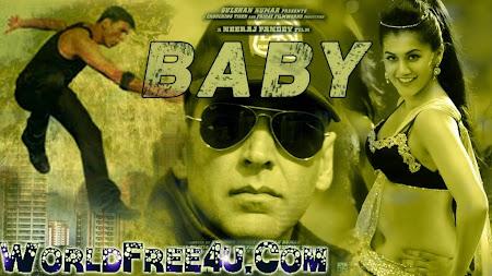 Poster Of Hindi Movie Baby (2015) Free Download Full New Hindi Movie Watch Online At worldfree4u.com