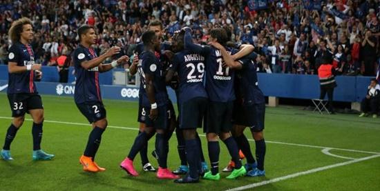PSG 2 x 0 Ajaccio - Campeonato Francês(Liga 1) 2015/16